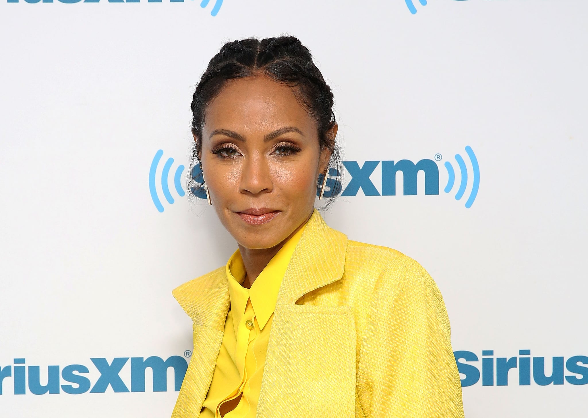 Jada Pinkett Smith Asymmetrical Haircut January 2018 Popsugar Beauty