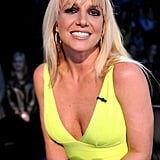 Britney Spears sat at the judges' table for the semifinals.