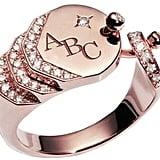 Nouvel Heritage Engraved Sparkles Ring