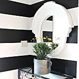 The find: this round bathroom mirror.