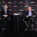 George Clooney and Rick Stengel talked in NYC.