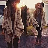 ACuteLittleDuck Oversize Knitted Sweater