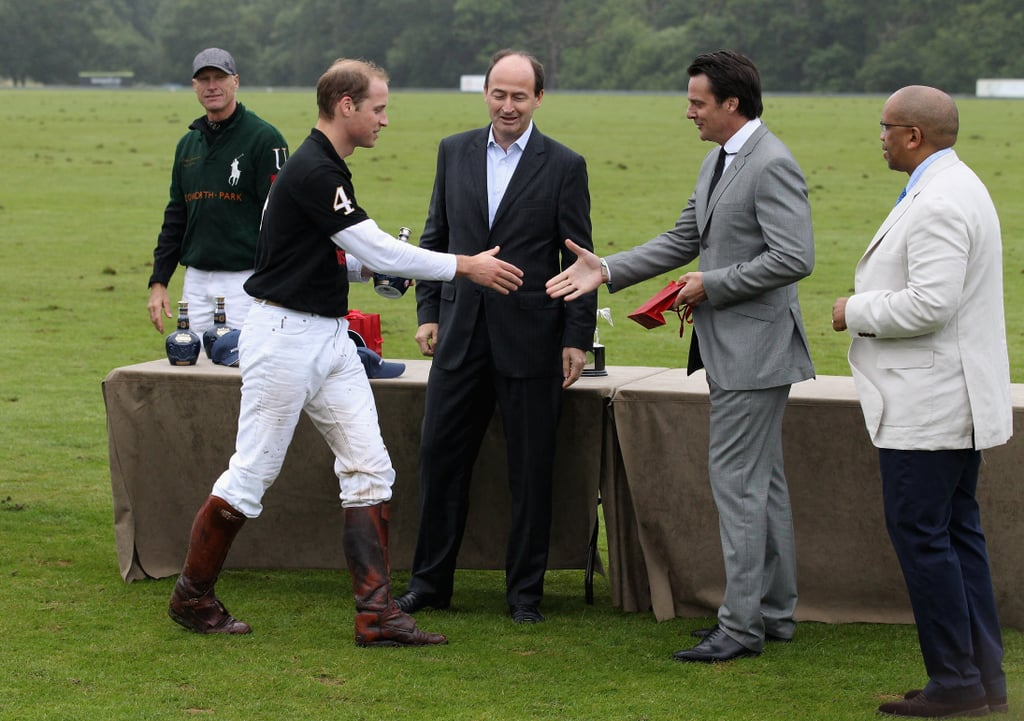 Prince William Goes From a Church Date With Kate to a Friendly Match With Harry
