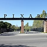 Pixar sits on Park Avenue, so there are several NYC references throughout campus, like a Brooklyn building.