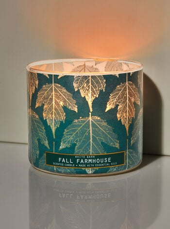 Bath & Body Works Fall Farmhouse 3-Wick Candle