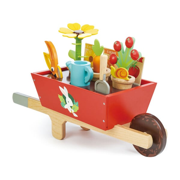 Tender Leaf Toys Garden Wheelbarrow Set