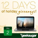 12 Days of Holiday Giveaways, Day 2: HP Envy Laptop!