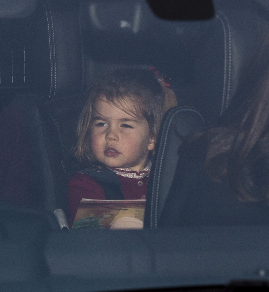 Princess Charlotte Going to Christmas Lunch December 2017