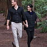 Prince Harry Takes Picture of Pregnant Meghan Markle 2018
