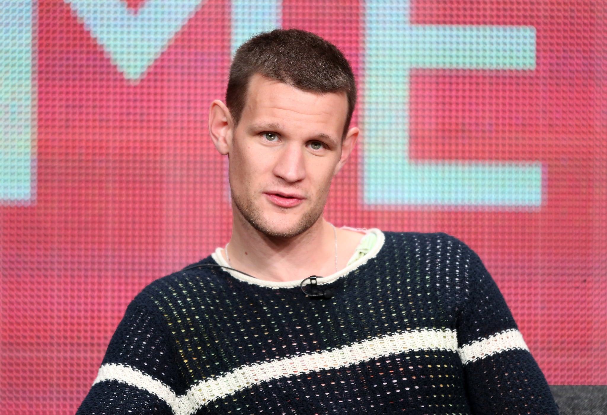 Matt Smith took the stage for the Doctor Who panel as part of the Television Critics Association Summer Press Tour.