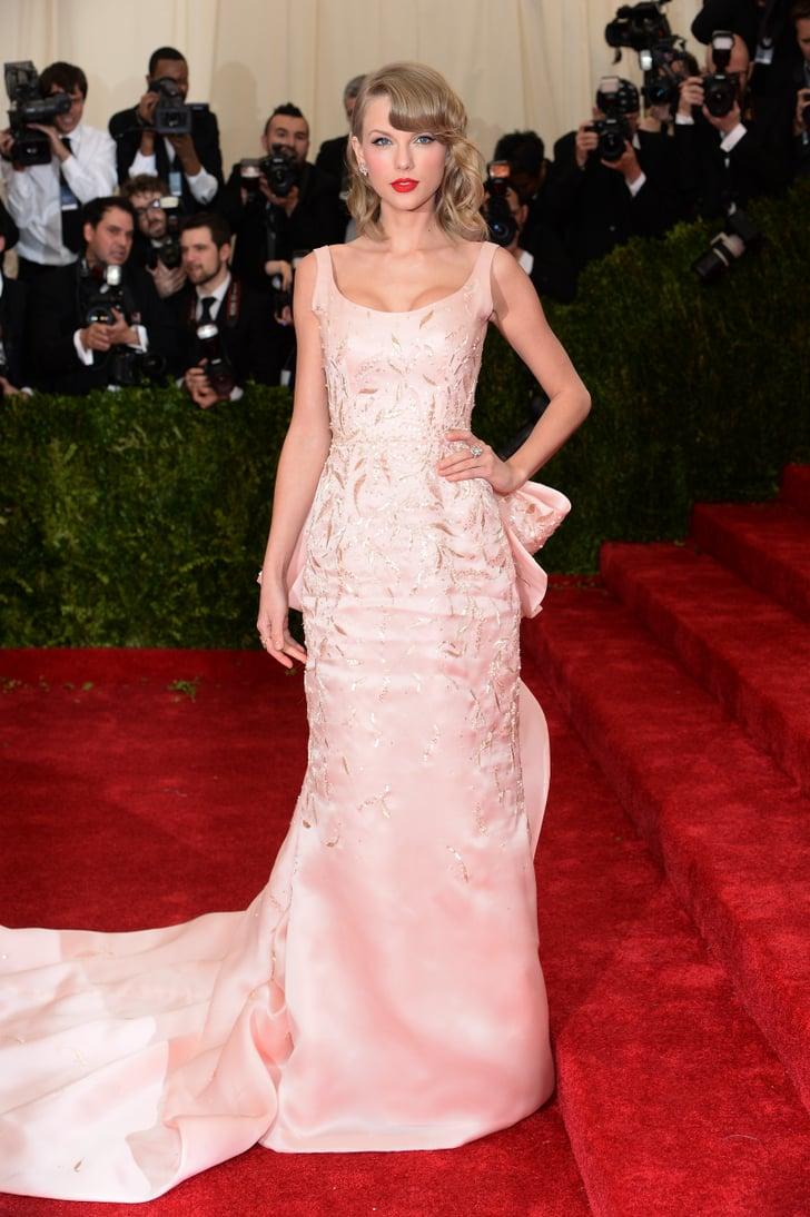 Taylor Swift In Oscar De La Renta Taylor Swift Oscar De