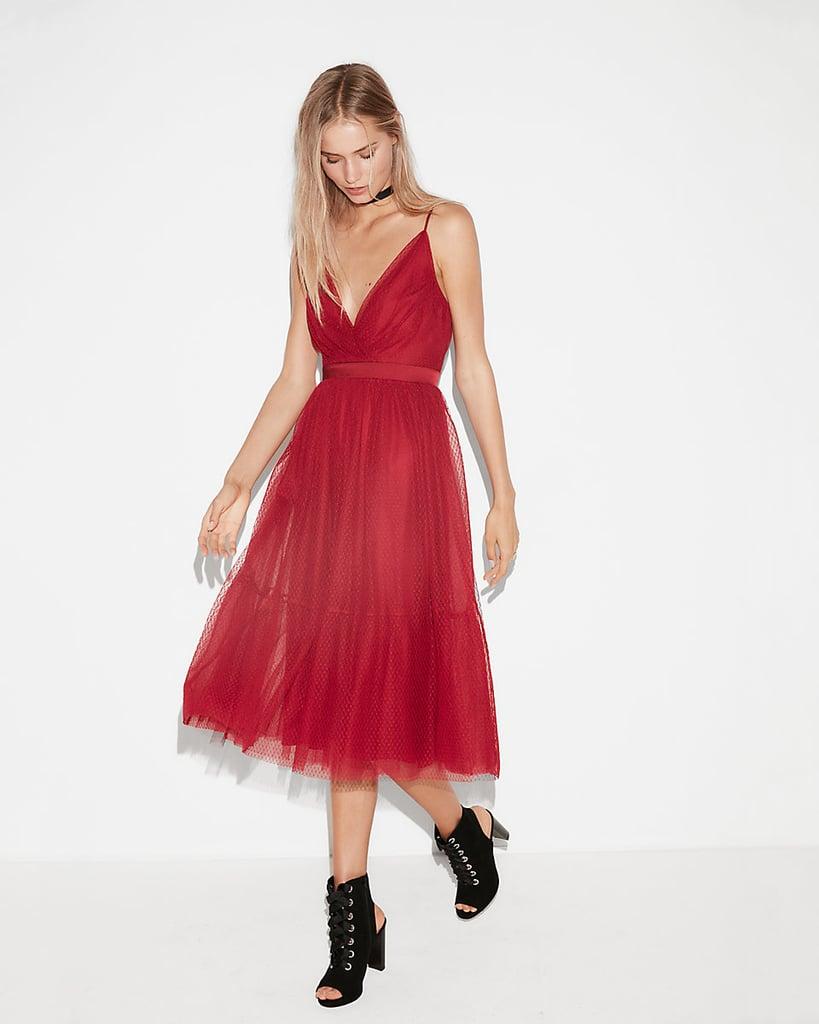 Express Point D\'esprit Dress   Holiday Dresses From Express ...