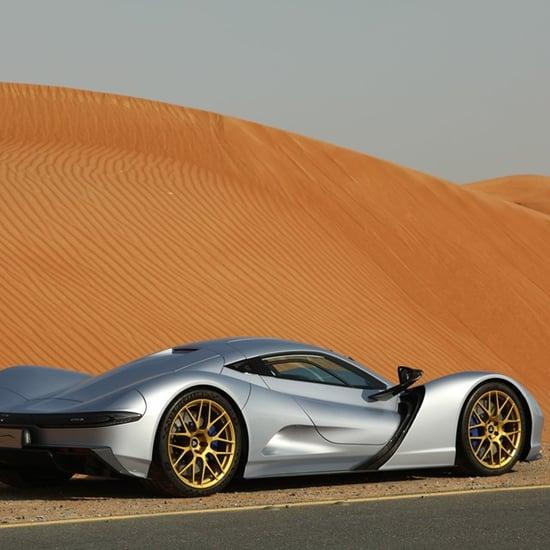 معرض دبي للسيارات يكشف عن أسرع سيارة كهربائية في العالم 2019