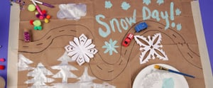 6 Snow Day Activities That Your Kids Will Love (With Stuff They Already Have!)