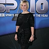 Zara wore a sparkly t-shirt dress to the BBC's Sports Personality of the Year awards last weekend.