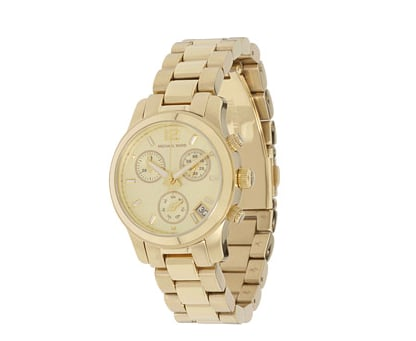 """Seen on nearly all the fashion bloggers, this watch is a great everyday piece of jewelry. I like to wear mine stacked with lots of bangles and bracelets."" — Ashley Madekwe