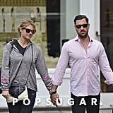 Kate Upton and Maksim Chmerkovskiy stepped out together in NYC.
