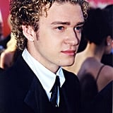 Justin showed off his curls at the 2000 Oscars.