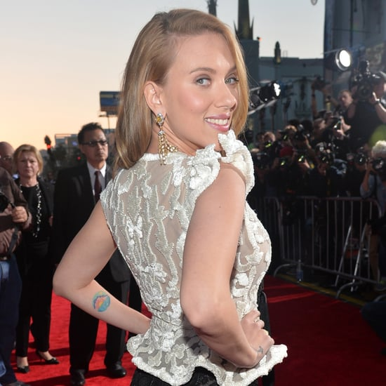 Scarlett Johansson at Captain America Premiere 2014 | Photos