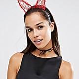 Johnny Loves Rosie Halloween Devil Ears Headband