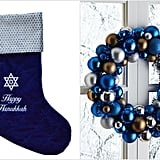 Putting up Hanukkah Home Accents