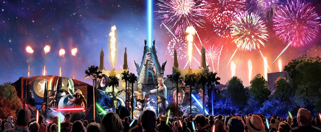 Disney World's New Fireworks Show Incorporates Star Wars in an Epic Way