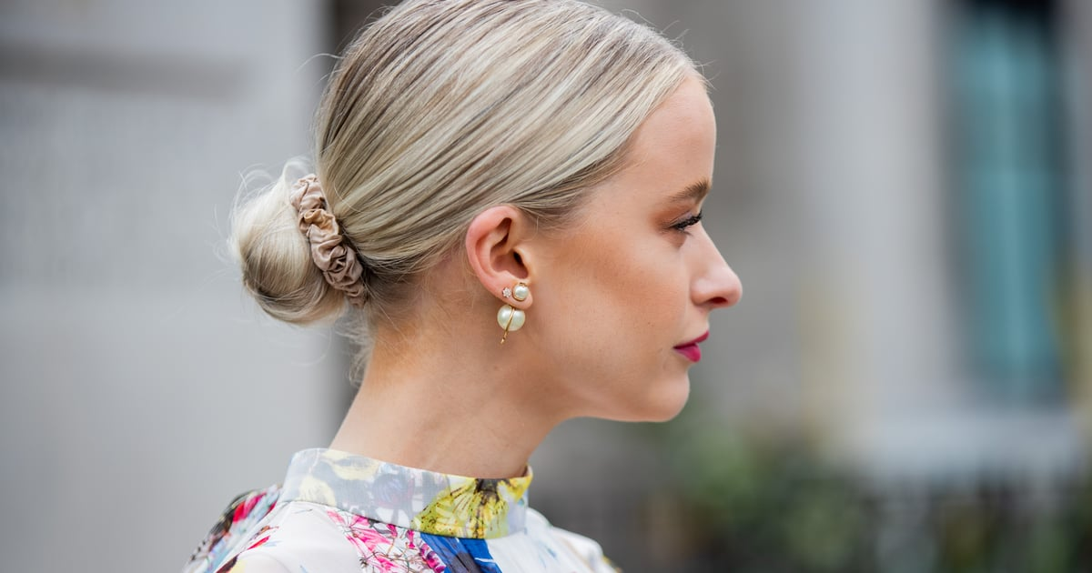 The Wet Hair Bun Trend Requires No Styling Skills Whatsoever, So It's Perfect For Summer