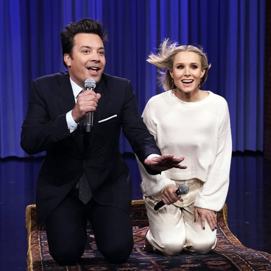 Jimmy Fallon and Kristen Bell History of Disney Songs Video