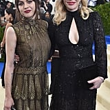 Frances Bean Cobain and Courtney Love enjoyed some mother-daughter bonding at the gala.