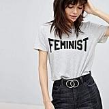 Vero Moda Feminist Slogan Tee