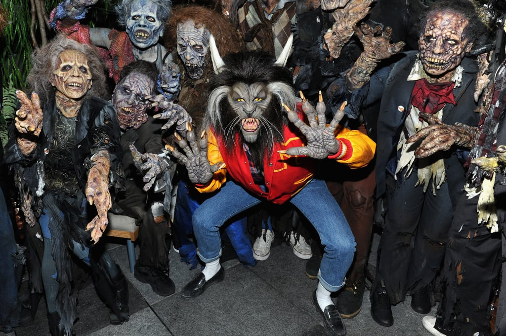 Heidi Klum's Halloween Costume 2017   POPSUGAR Celebrity