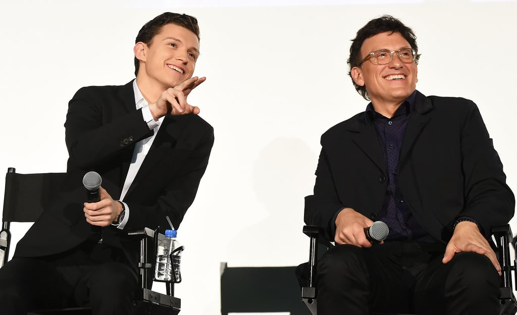 When he shared a candid moment with director Anthony Russo . . .