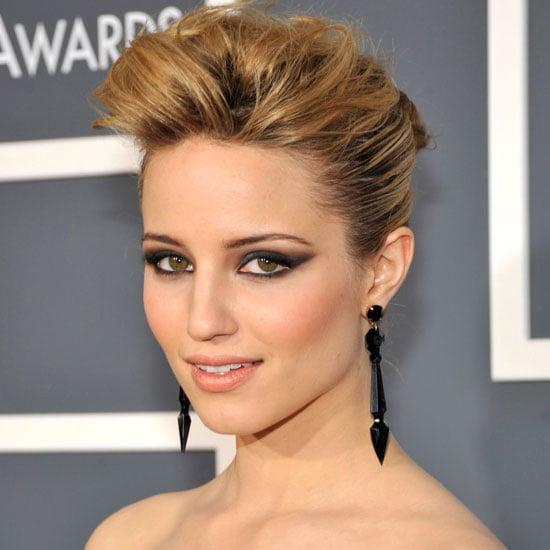 Get Dianna Agron's Tousled Updo