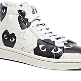Comme des Garcons High Top Canvas Sneakers (£99)