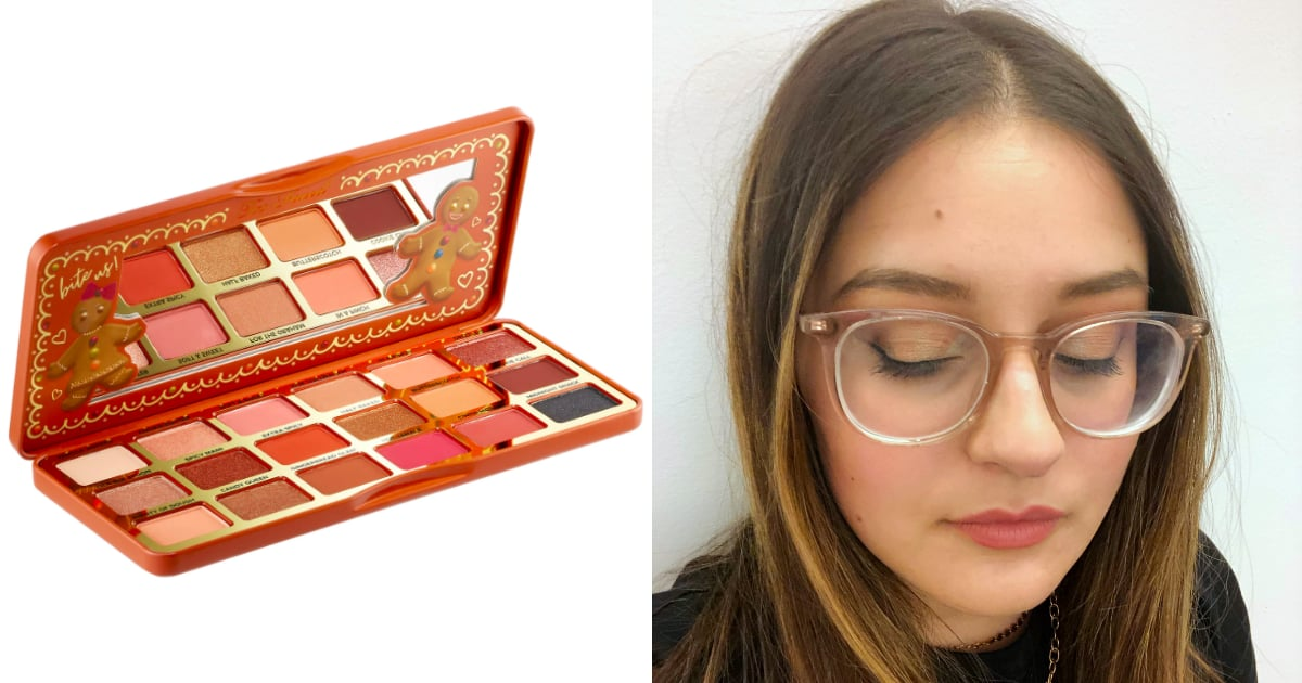 I loved the brand's previous gingerbread-themed palette and couldn't wait to test out the updated
