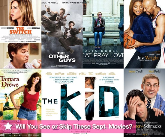 Movies Films Released at UK Cinemas in September 2010 Including The Switch