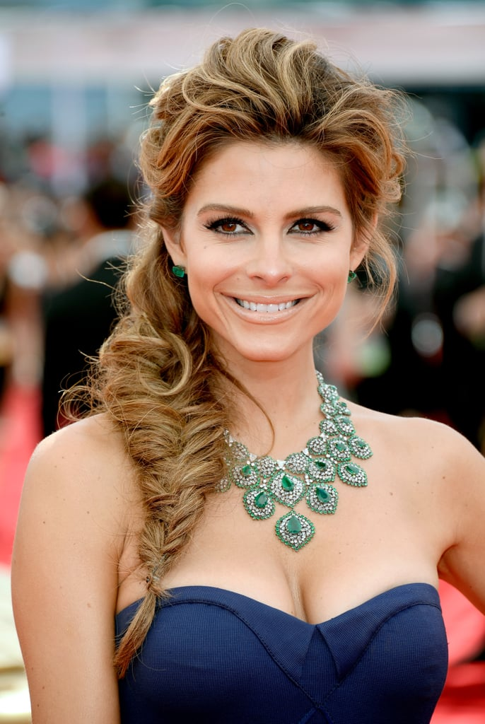 Yes, a fishtail braid can be formal. Maria Menounos proved that your typical weekend style can also work well on the red carpet.