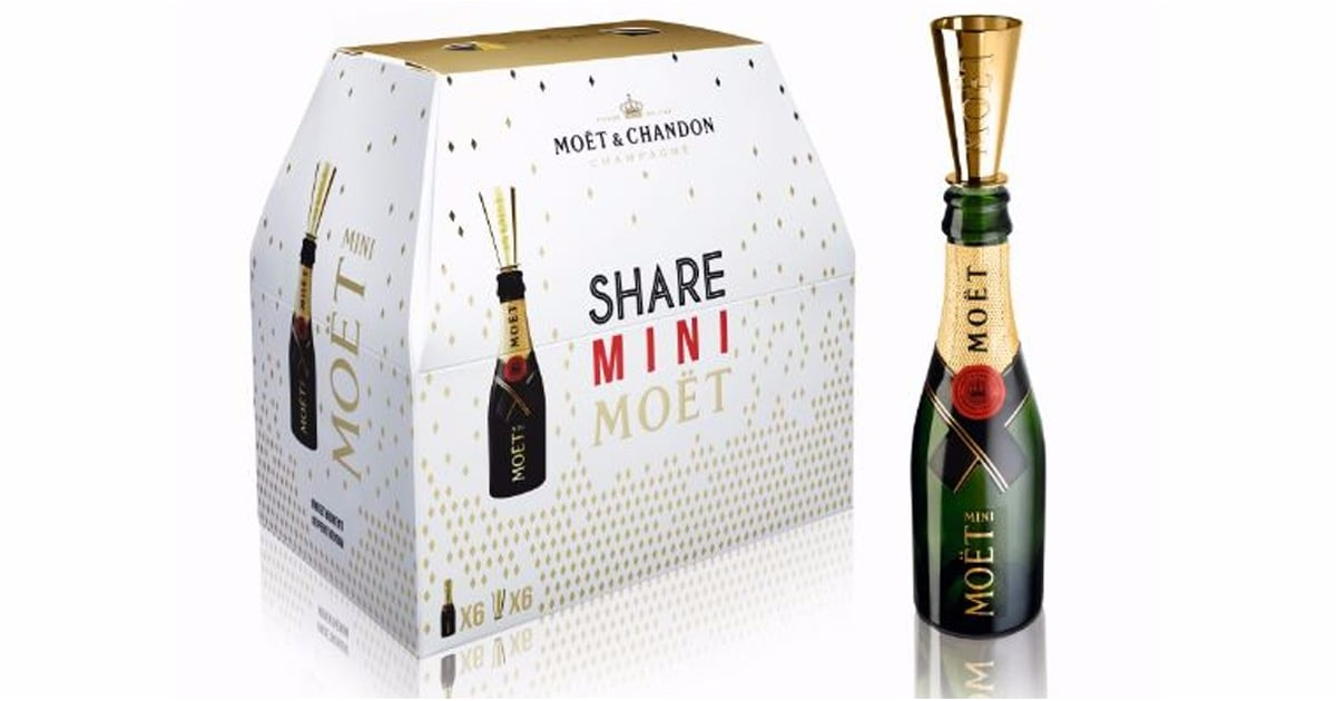 OMG Moët Now Sells Mini Bottles of Champagne by the 6-Pack Like Beer