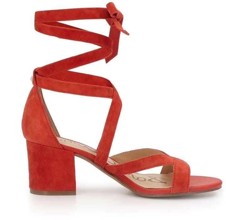 522d576041a2 Sam Edelman Sheri Ankle Wrap Heels
