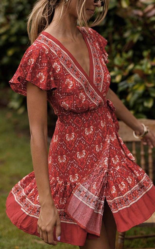 Amazon Prime Day 2020 Wrap Dress Sale
