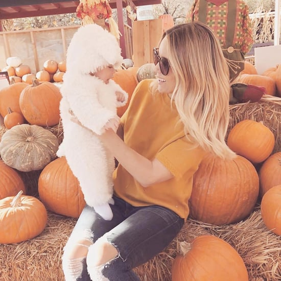 Lauren Conrad and Son Liam at Pumpkin Patch 2017