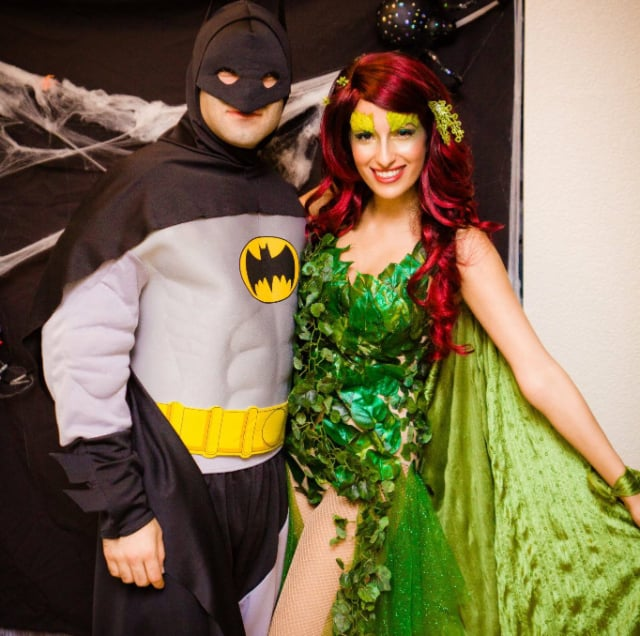 Batman and Poison Ivy  sc 1 st  Popsugar & Batman and Poison Ivy | Homemade Halloween Couples Costumes ...