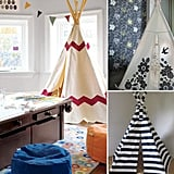 Decor Trend: Glamping Tents and Teepees For Little People