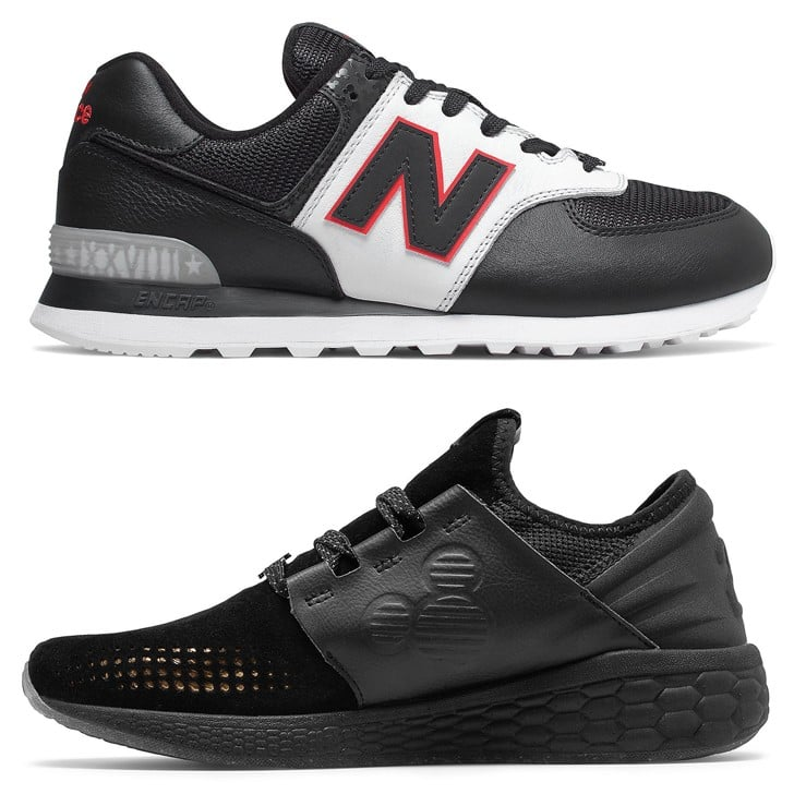 Mickey Mouse 90th Anniversary New Balance Shoes