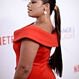 Dascha Polanco's Hairstyle at the OINTB Premiere 2016