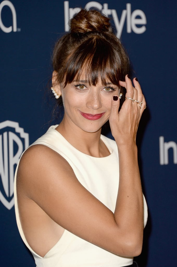 Rashida Jones Braided Updo Is The Hairstyle Of The 2014 Awards
