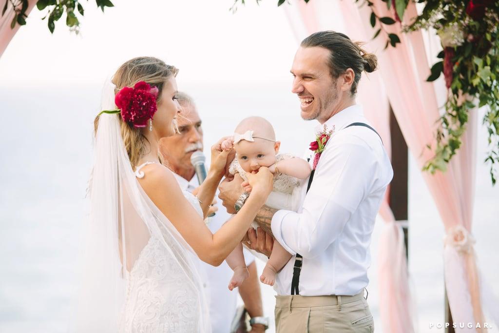 Corey Bohan and Audrina Patridge on Their Wedding Day