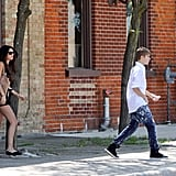 Selena Breaks Out Short Shorts on Her Latest Day Date With Justin