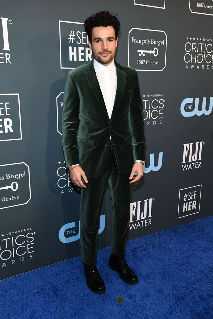 Christopher Abbott at the 2020 Critics' Choice Awards