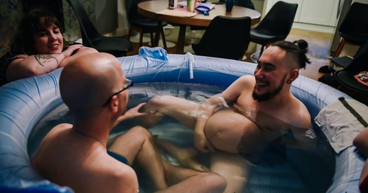 A Man Shared Empowering Birth Photos to Normalize Trans and Nonbinary People Giving Birth